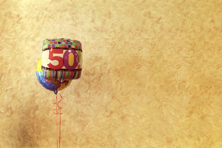 celebrating 50 a milestone